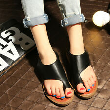 Womens Noble Slippers Clip Top Flats Mules Summer Roma Sandals Shoes Fashion 10