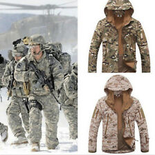 Fashion Mens Military Addictive Camo Hooded Thicken Jacket Coats Clothes Outwear