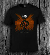 GOJIRA album logo black t-shirt 9o9ov cotton all size