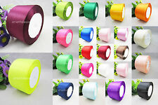 "5 / 10Yds 50mm (2"") Multicolor Wedding Party / Craft / DIY Satin Ribbon You pick"