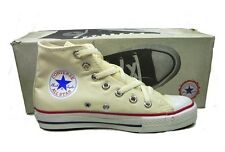 Unbleached white All Star converse hi tops sneakers chucks NEW USA 12 13 13.5