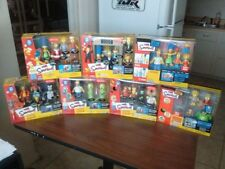The Simpsons Playmates WOS Boxed Interactive Environment w/ 4 Figures MISB