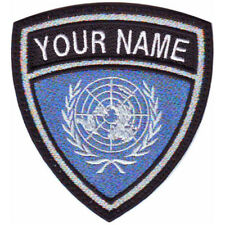 ONU CUSTOM CREST FLAG NAME EMBROIDERED PATCH