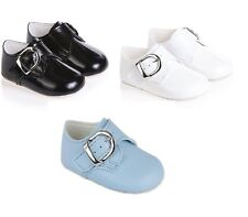 BABY BOYS SPECIAL OCCASION PRAM BUCKLE SHOES FOR WEDDING,CHRISTENING