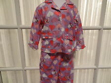 """NWT Dr. Seuss Toddler Girls """"The Cat In The Hat"""" Pajamas - Sizes 2T- 4T"""