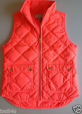 J. Crew Excursion Quilted Down Vest NWT Color: Neon Flamingo Size: Large