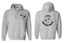 Cute Personalised Horse Riding Hoodie Funny Horseriding Hoody Equestrian H7