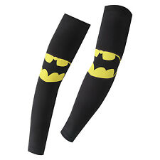 Cycling Arm Sleeve Sun UV Protection Driving Outdoor Tight Oversleeves Bat