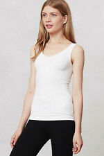 NEW Anthropologie Eloise Reversible Seamless Tank Top Off White Sz S,M,L $30.00