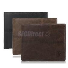 Classic Men Wallet Business PU Leather Wallet Card Holder Bifold Slim Purse NEW