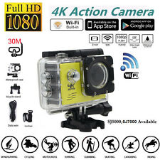 Mini 4K 1080P Full HD Wifi DV Sport Recorder Waterproof Action Camera Camcorder