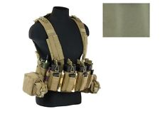 Tactical Assault Gear TAG Intrepid Chest Rig Vest Military Green Coyote Tan ICR1
