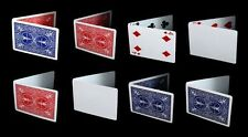 Bicycle Magic Gaff Deck Playing Cards Double Back Blank Face Trick Red Blue 1 EA