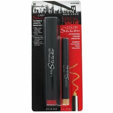MAYBELLINE  Lash Stilleto Mascara & Cream Shadow pencil-Eyes-Makeup-Beauty-Women