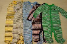 $30 NWT Ralph Lauren Striped Baby Infant Boys Footie Coverall  Sz 3 6 9 12 month