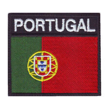PORTUGAL BADGE FLAG EMBROIDERED  PATCH