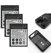 New Li-ion Polymer Internal Battery + Charger For Galaxy W i8150 T759 S5820 Lot