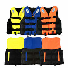 Polyester Adult Life Jacket Universal Swimming Boating Ski Vest New