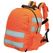 Portwest High Visibility Rail Specification Standard Rucksack B905
