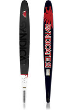 HO Sports HO Skis Syndicate S1 with Fin Slalom Waterski 2011 Style 2 sizes!