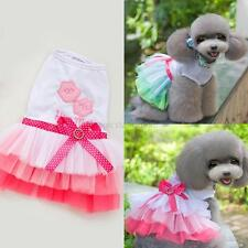 Sweet Pet Dog Cat Tutu Dress Puppy Princess Lace Dress Pet Clothes Apparel