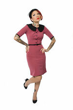 Wiggle Dress 14 10 50s Style Dress Pin Up Dress 10 14 Rockabilly Retro NEW