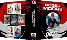 JAMES BOND 007 ROGER MOORE Custom Photo Album 3-Ring Binder