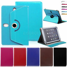 """360 Rotate Universal Leather Stand Cover Case For 7'' ~ 7.9"""" Android Tablet PC"""