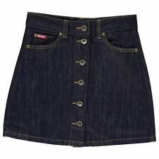 Lee Cooper Childrens Skirt Girls Button Up Denim Clothing