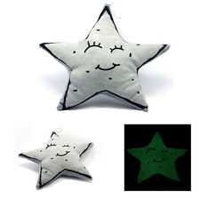 Baby Pillow Cushion Soothing Glowing Soft Toy Moon Star New