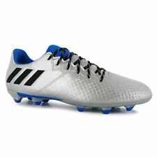 adidas Childrens Messi 16.3 FG Football Boots Youth Boys Lightweight Shoes