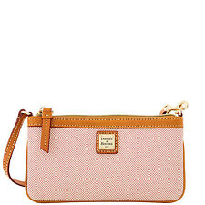 Dooney & Bourke Linen Large Slim Wristlet