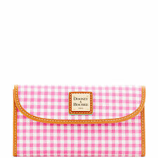 Dooney & Bourke Small Gingham Continental Clutch