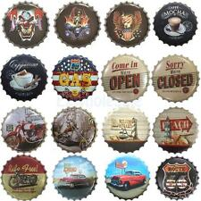 Bottle Cap Retro Metal Tin Sign Plaque Vintage Picture Bar Pub Man Cave 16 Style