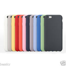 NEW Luxury Slim Silicone Cover Ultra-Thin Back Case For Apple iPhone 6S/6S Plus