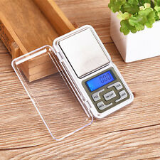 Pocket Digital Jewelry Scale 200g/0.01g 500g/0.1g Gram Balance Weight Electronic