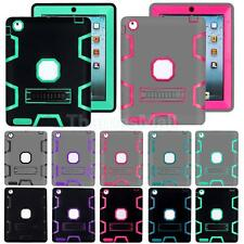 Shockproof Hard Plastic Stand Case Cover Protective for iPad 6 9.7""