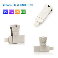 Transformer OTG USB Flash Drive16GB 32GB 64GB For Apple iPhone iPad Memory Stick