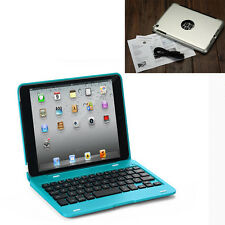 Durable Wireless Bluetooth Keyboard Folio Case Cover Stand For iPad Mini 1 2 3 4