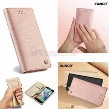 Luxury Leather Wallet case card pocket soft cover for Apple iPhone 7 7 plus 6s 8