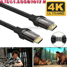 0.75-12M High Quality HDMI Cable V2.0 4K@60Hz 3D 1080P- HDTV LCD LED For PS4