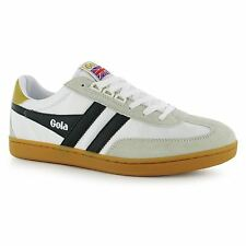 Gola Europa Casual Trainers Mens White/Black Sneakers Shoes