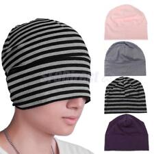 New Fashion Womens Mens Hats Skullies Beanies Cotton Bonnet Cap Sleep Night Hats