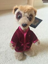 Meerkat Toy - genuine Compare the Market toy - Aleksandr - New With Tags