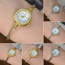 Charm Rhinestone watches for women Crystal Quartz Bracelet Bangle Wrist Watch