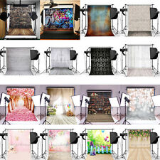 3x5FT Retro Photography Backdrop Photo Background Brick Wood Wall Studio Props