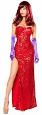 Rabbits Lover Costume Sequin Costume Corset and Long Skirt Roma 10088 Costumes