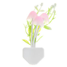 Colorful Water Plants LED Mushroom Night Light Lamp Home Decoration Bed Lamp