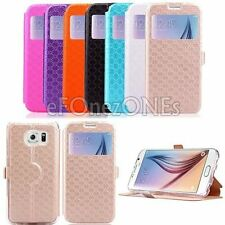 Luxury PU Leather Wallet Cover Flip Phone Case Cover For Samsung Galaxy Models