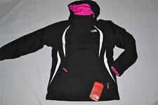 THE NORTH FACE GIRLS MOUNTAIN VIEW TRICLIMATE JACKET BLACK L LARGE AUTHENTIC